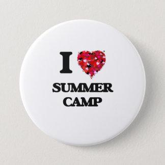 I love Summer Camp Pinback Button