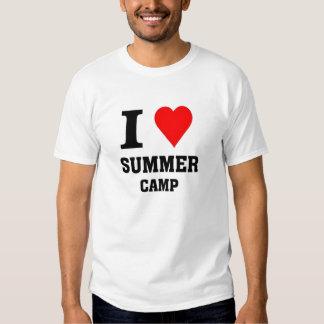 I love Summer camp Shirt