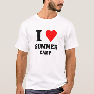 I love Summer camp T-Shirt