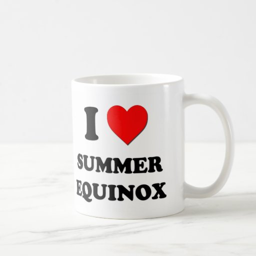 I love Summer Equinox Coffee Mug