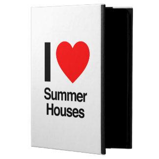 i love summer houses iPad air case