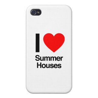 i love summer houses iPhone 4 covers