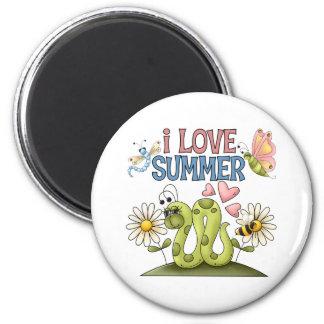 I Love Summer Magnet