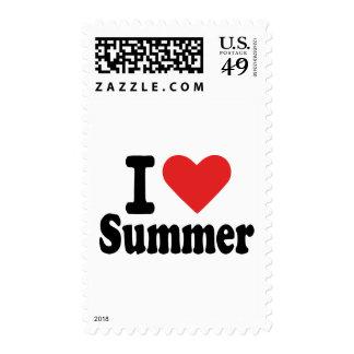 I love summer postage