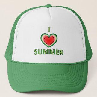 I Love Summer Trucker Hat