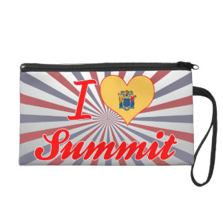 I Love Summit, New Jersey Wristlets