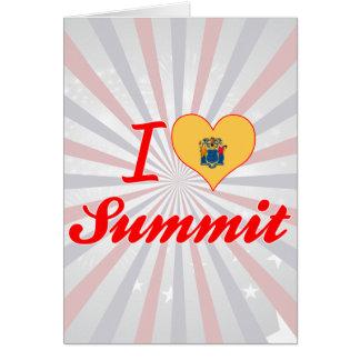 I Love Summit, New Jersey Card