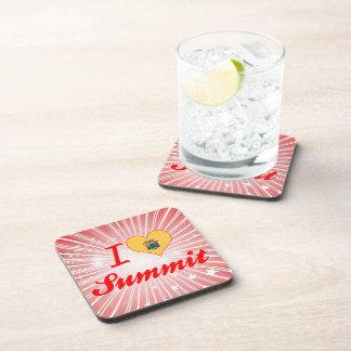 I Love Summit, New Jersey Drink Coaster