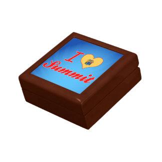 I Love Summit, New Jersey Keepsake Box