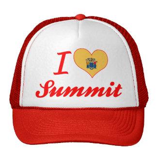 I Love Summit, New Jersey Mesh Hat