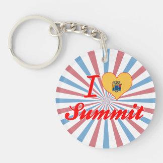 I Love Summit, New Jersey Key Chains