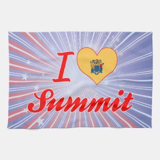 I Love Summit, New Jersey Kitchen Towel