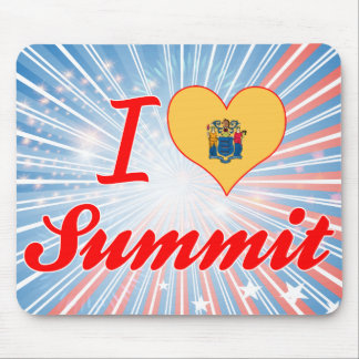 I Love Summit, New Jersey Mousepads