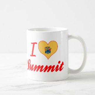 I Love Summit, New Jersey Coffee Mug