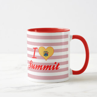 I Love Summit, New Jersey Mug