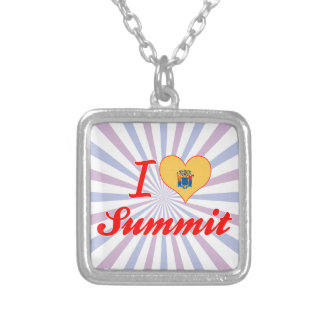 I Love Summit, New Jersey Pendant