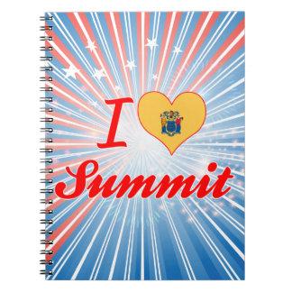 I Love Summit, New Jersey Spiral Note Book