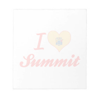 I Love Summit, New Jersey Memo Note Pads