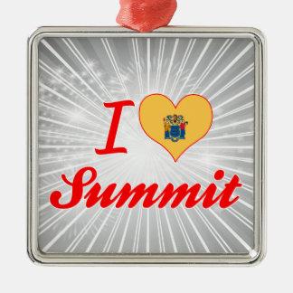 I Love Summit, New Jersey Ornament