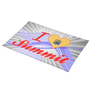 I Love Summit, New Jersey Placemat