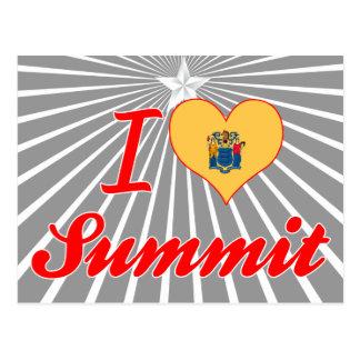 I Love Summit, New Jersey Postcard