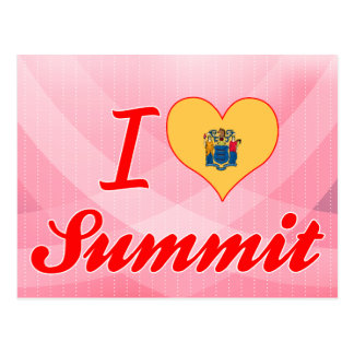 I Love Summit, New Jersey Post Card