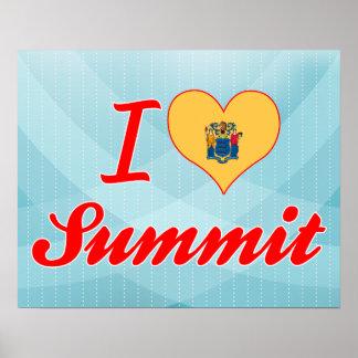 I Love Summit, New Jersey Print