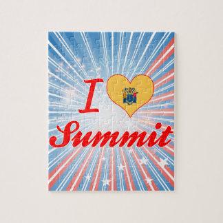 I Love Summit, New Jersey Jigsaw Puzzle