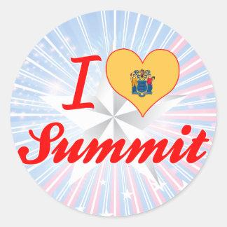 I Love Summit, New Jersey Stickers