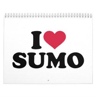 I love Sumo wrestling Calendar
