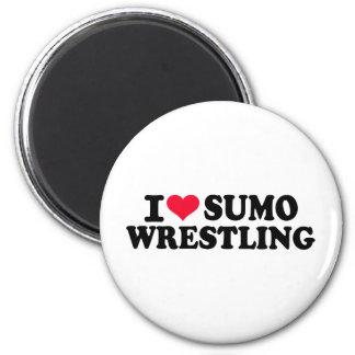I love Sumo Wrestling Magnet