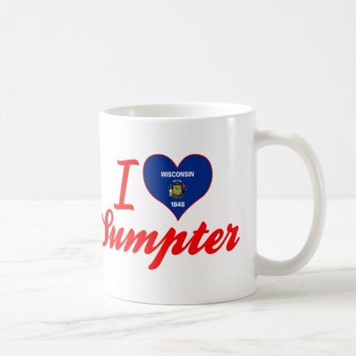 I Love Sumpter, Wisconsin Mug