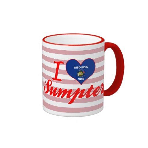 I Love Sumpter, Wisconsin Mugs