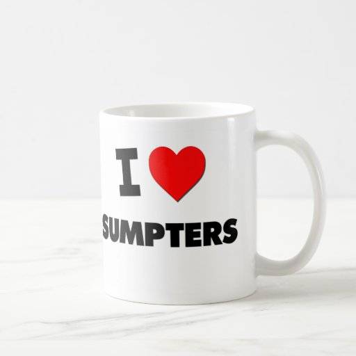 I Love Sumpters Mug