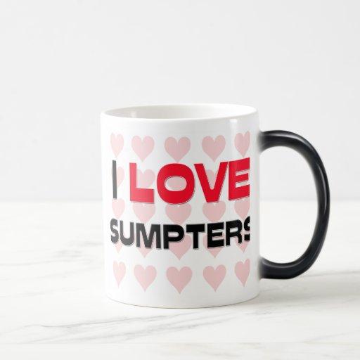 I LOVE SUMPTERS MUGS