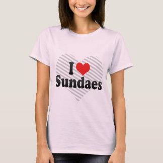 I Love Sundaes T-Shirt
