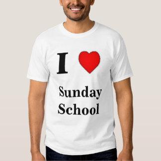 I love sunday school t shirts