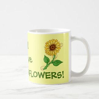 I love SUNFLOWERS! ~ Mug