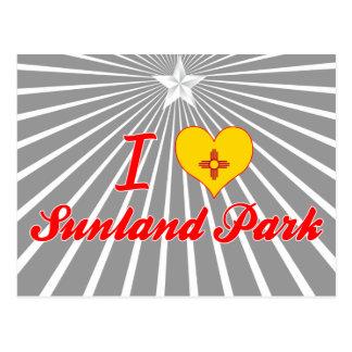 I Love Sunland Park, New Mexico Postcard