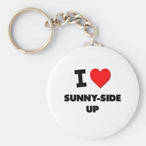 I love Sunny-Side Up Key Chains