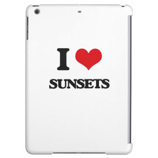 I love Sunsets Cover For iPad Air