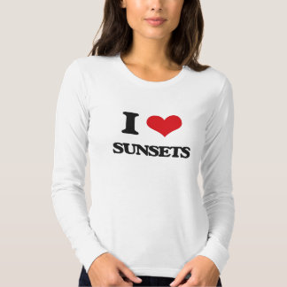 I love Sunsets T Shirt