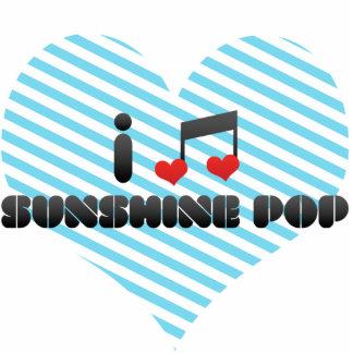 I Love Sunshine Pop Cut Outs