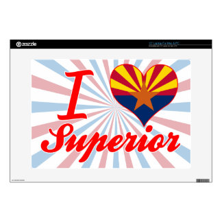 I Love Superior, Arizona Laptop Decal