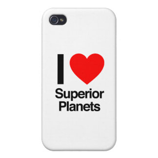 i love superior planets case for iPhone 4