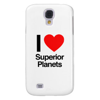 i love superior planets galaxy s4 cases
