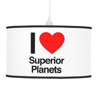 i love superior planets hanging pendant lamps