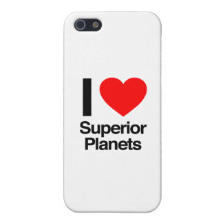 i love superior planets iPhone 5/5S cover