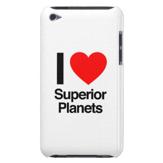 i love superior planets iPod touch cases