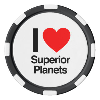 i love superior planets poker chips